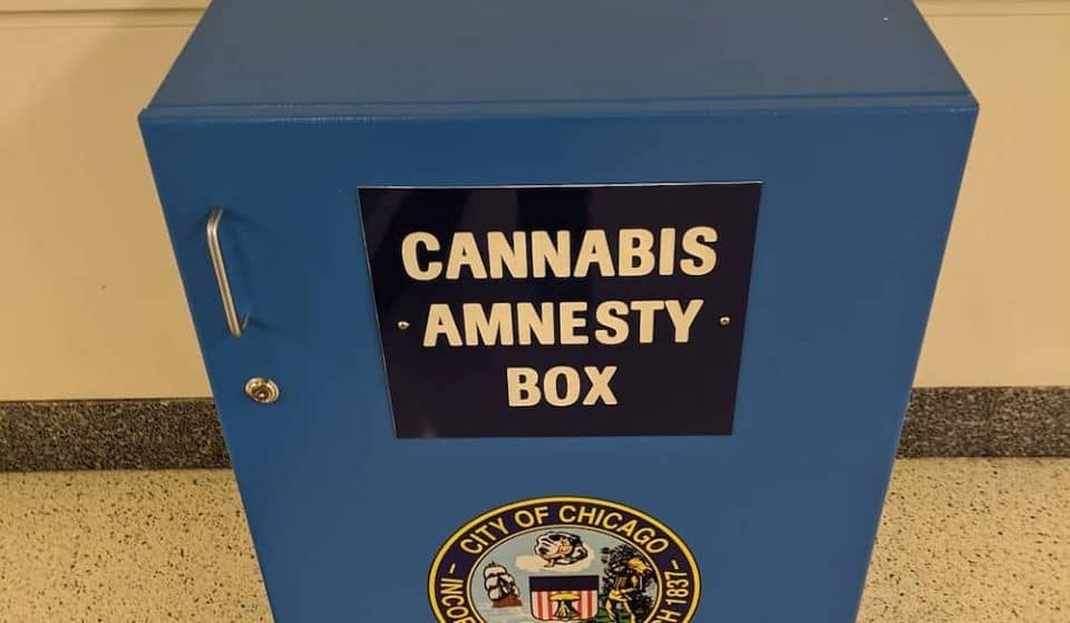 Someone Stole Weed Out Of A Cannabis Amnesty Box At Midway And No One Is Surprised