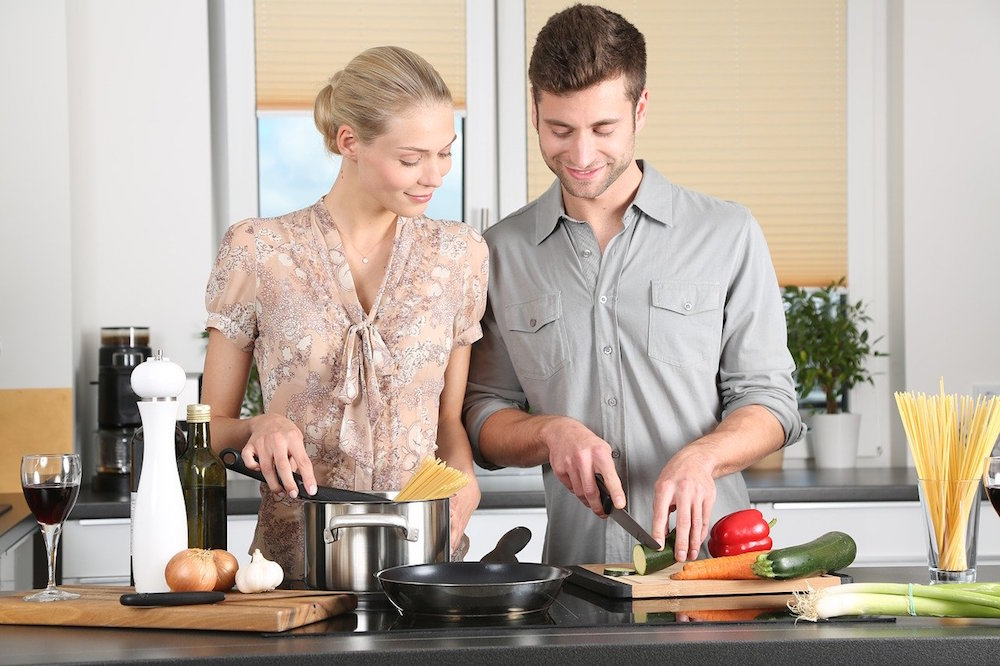 Spend Valentine's Day At This Romantic Couples Cooking Class & BYOB Dinner