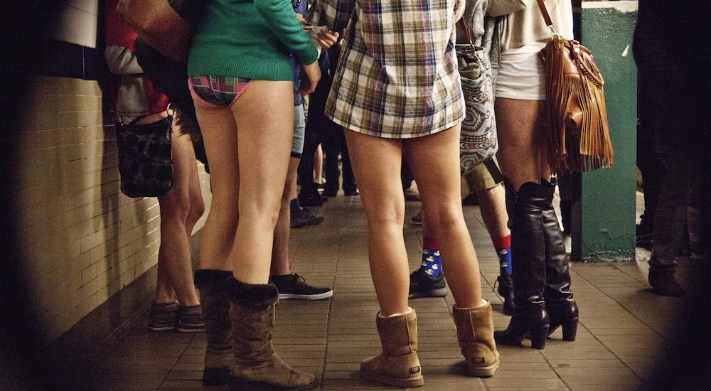 Don't Be Alarmed If You See People In Their Underwear On The Red Line This Weekend