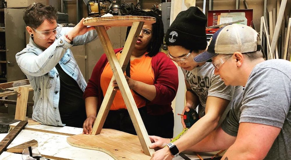 You Don't Have To Be Butch To Attend This 'Dykes With Drills' Intro To Tools Workshop