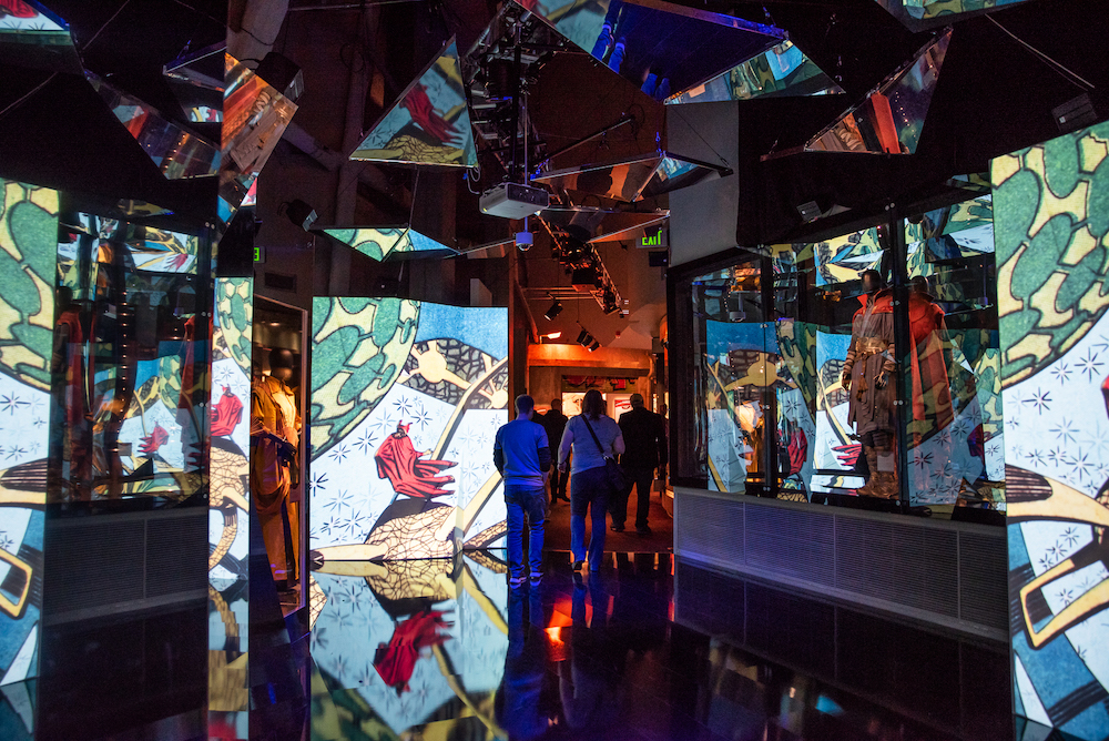 The World's Largest Interactive Marvel Comics Exhibit Has Opened In Chicago