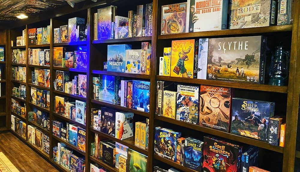chicago board game cafe