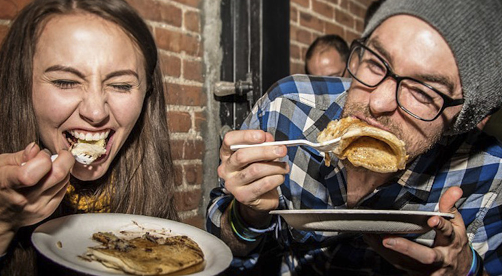 Enjoy Unlimited Pancakes At This Boozy Art Show Coming To Chicago Next Week