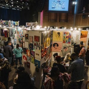 chicago pancake and booze art show