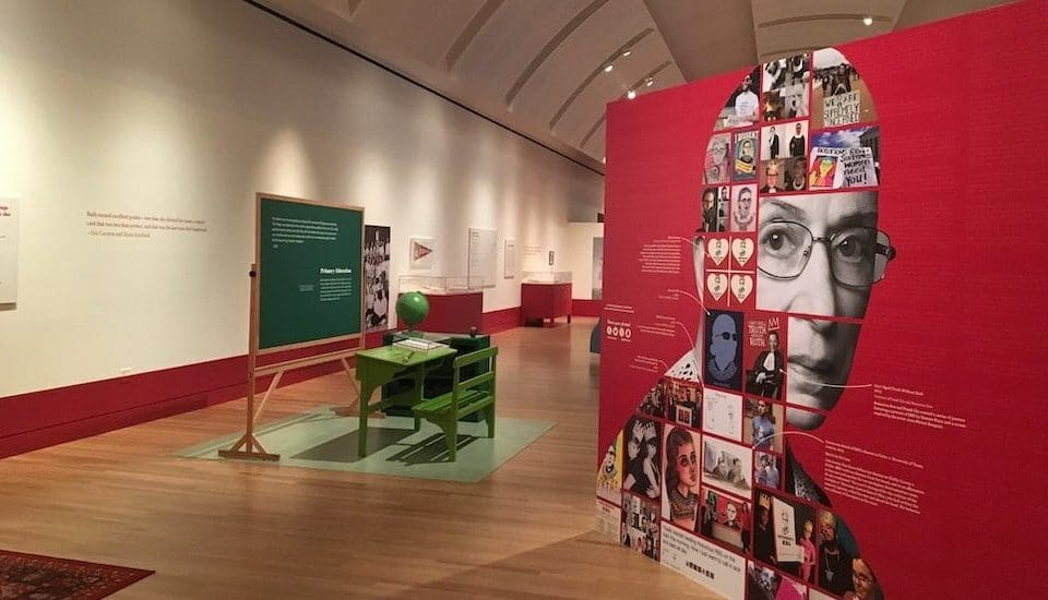 Honor The Late Justice Ruth Bader Ginsberg At The Illinois Holocaust Museum's 'Notorious RBG' Exhibit