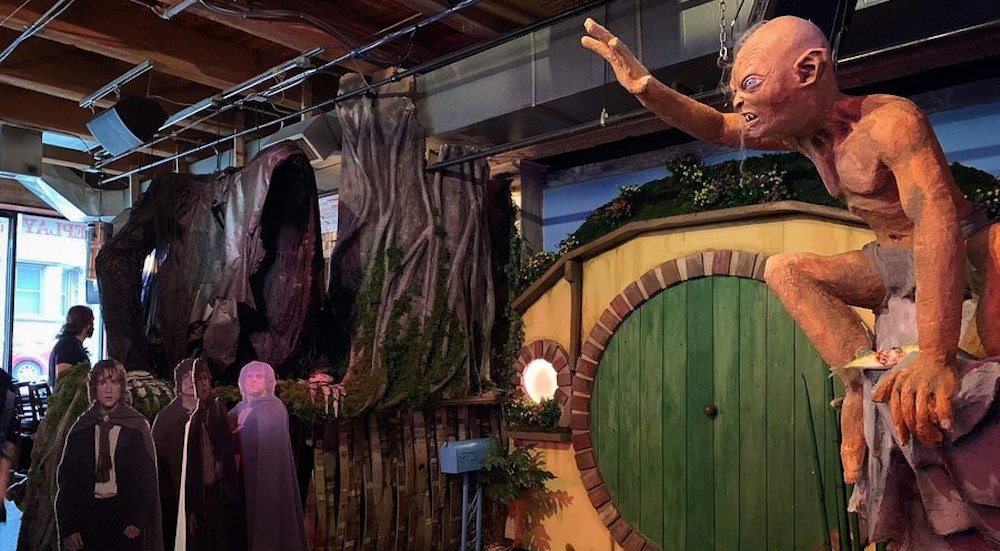 lord of the rings pop up