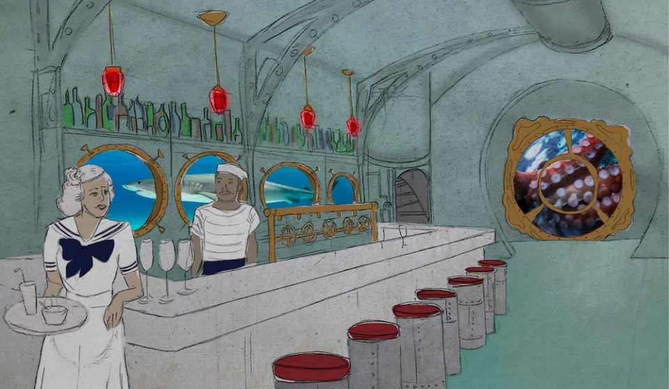 A Tiki Submarine Pop-Up Bar Sets Sail Toward Chicago This Fall, And We're All Aboard