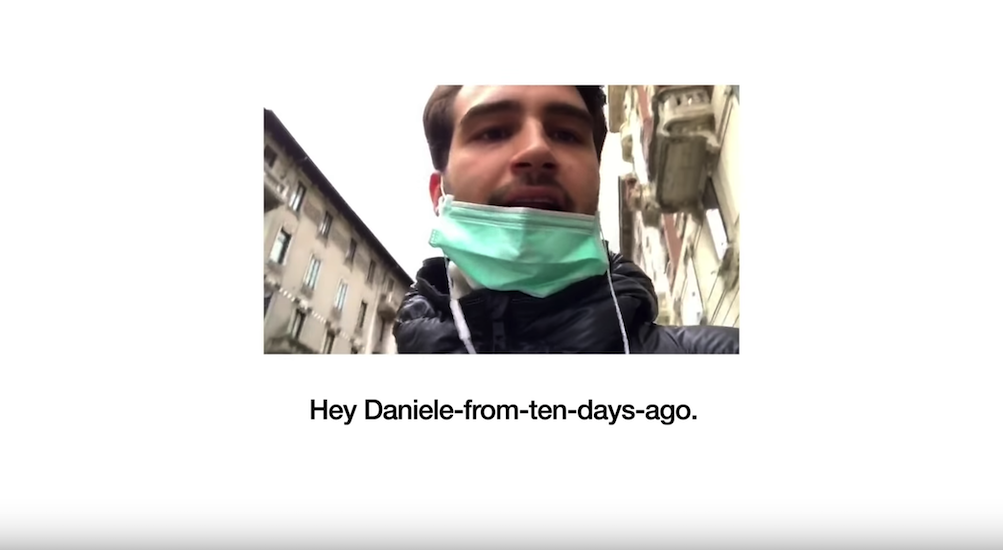 Italians Record Messages To 'Themself From 10 Days Ago' As A Warning From The Future
