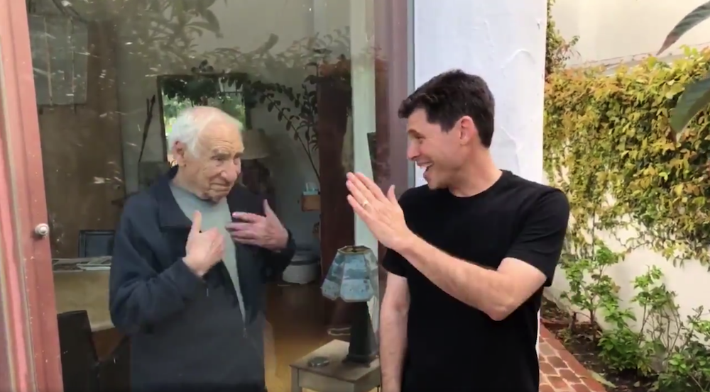 Max And Mel Brooks Post Funny Coronavirus PSA About The Importance Of Social Distancing