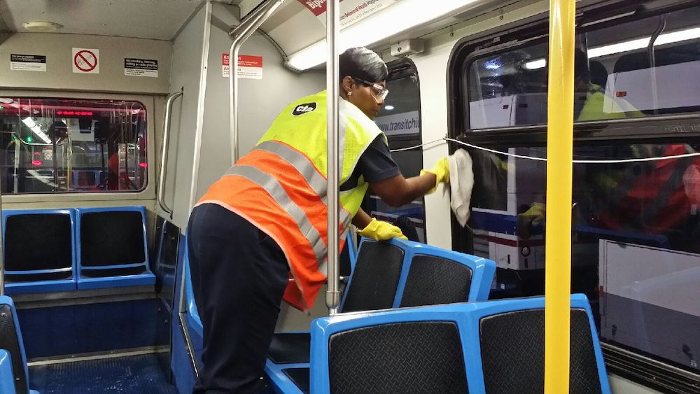 CTA Explains How They Clean Busses, Trains, and Stations
