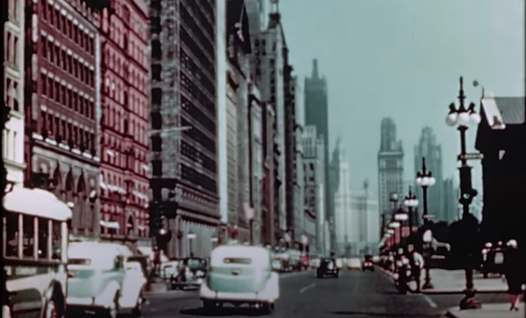 Watch An Incredible Side-By-Side Comparison Of Chicago 72 Years Apart
