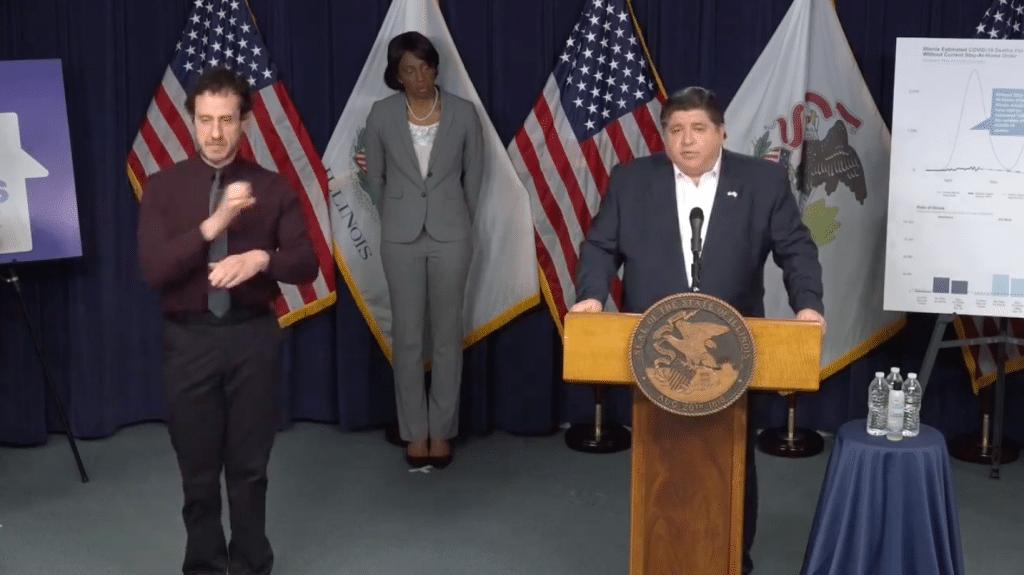 Governor JB Priztker Officially Extends Stay-At-Home Order Through May