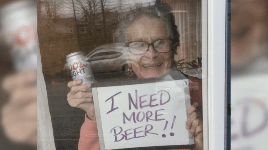 A 93-Year-Old Woman Asked For More Beer, And Coors Delivered