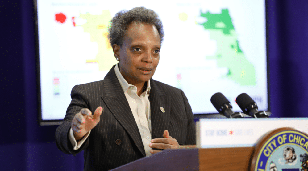 New Evidence Suggests That Chicago Is 'Flattening The Curve,' Says Mayor Lightfoot
