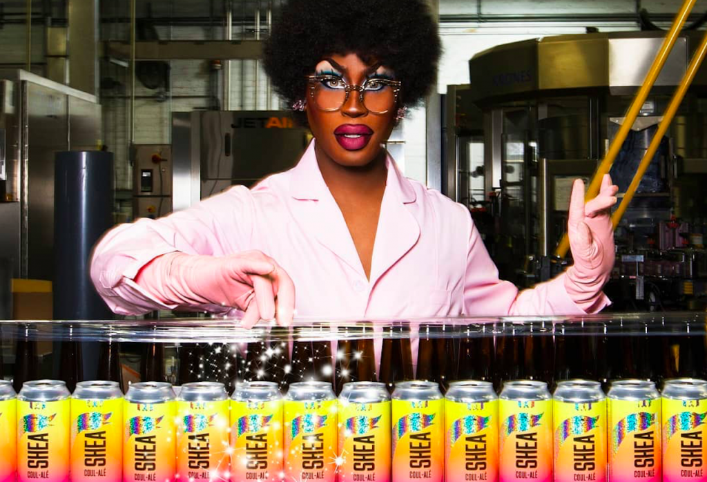 """Goose Island Releases A Fierce New """"Shea Coul-Alé"""" To Celebrate Pride"""