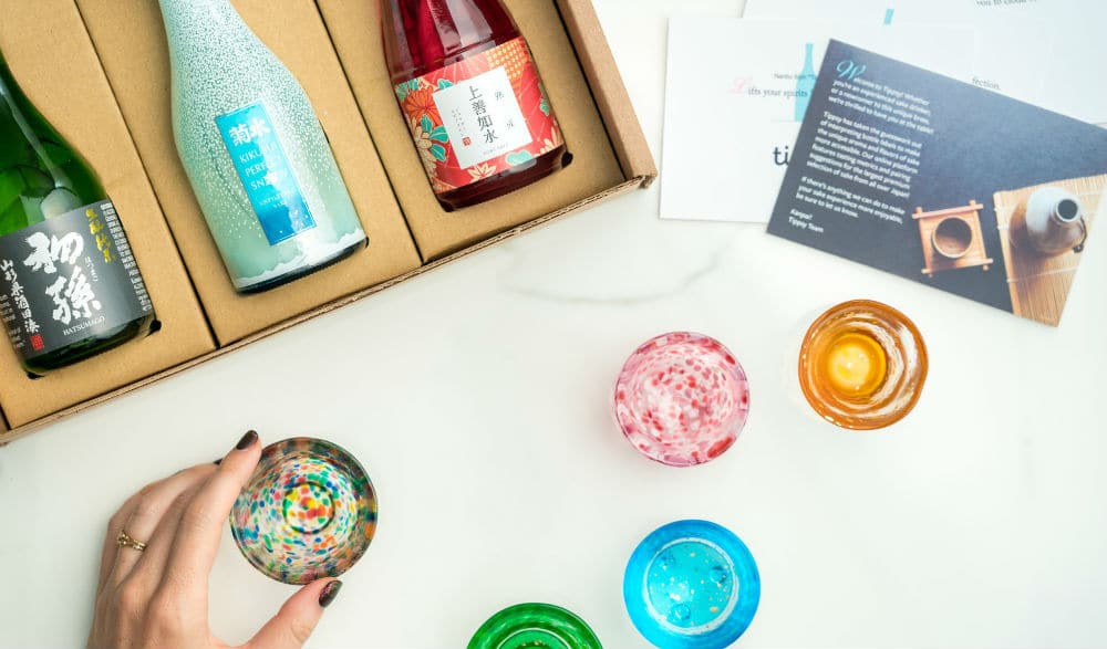 Become A Sake Expert With This Curated Box Set Delivered Straight To Your Door