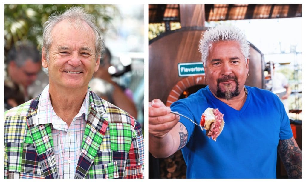 Bill Murray, Guy Fieri, And Sons Will Face-Off In A Nacho Making Contest Tomorrow Evening