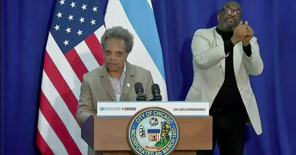 Mayor Lori Lightfoot Unveils Plan For Re-Opening The City