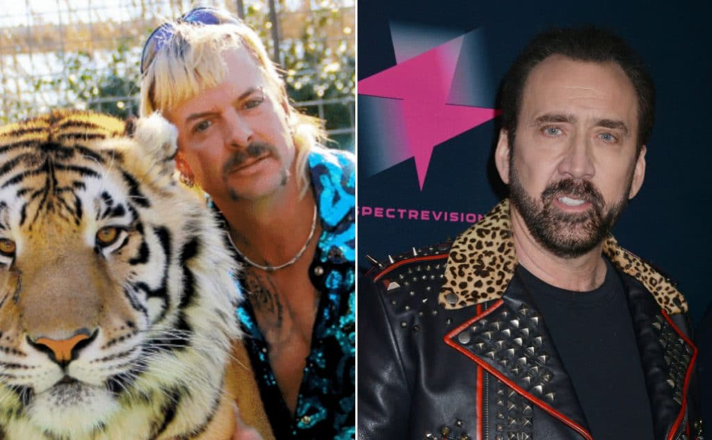 Nicolas Cage Will Play Joe Exotic In New Scripted TV Series