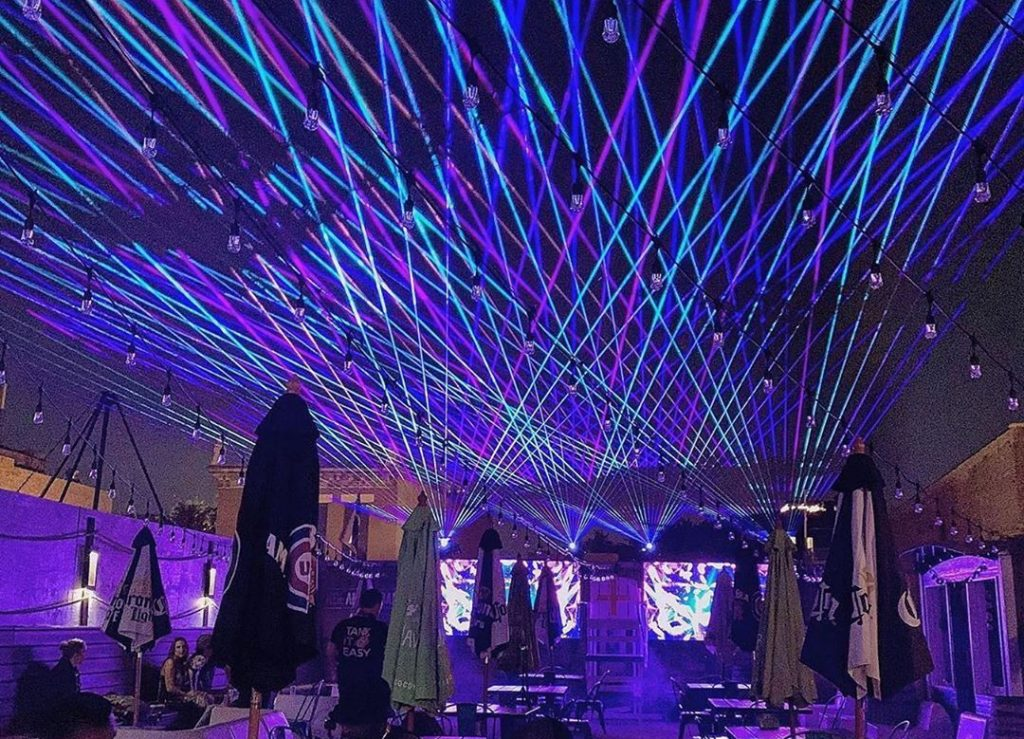 This Wicker Park Bar Has A Dazzling New Light Show • Whiskey Business