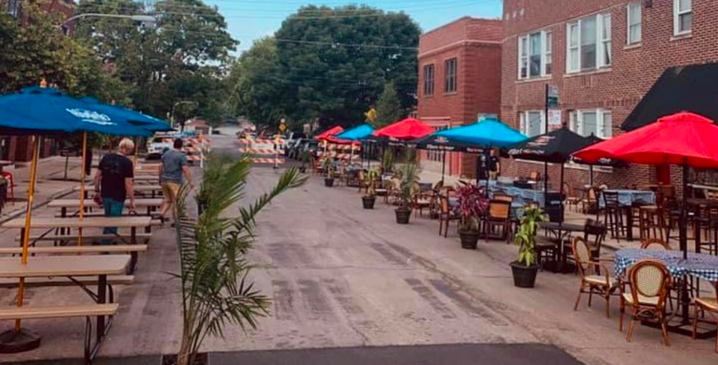 5 More Streets Reserved For Patio Dining This Weekend