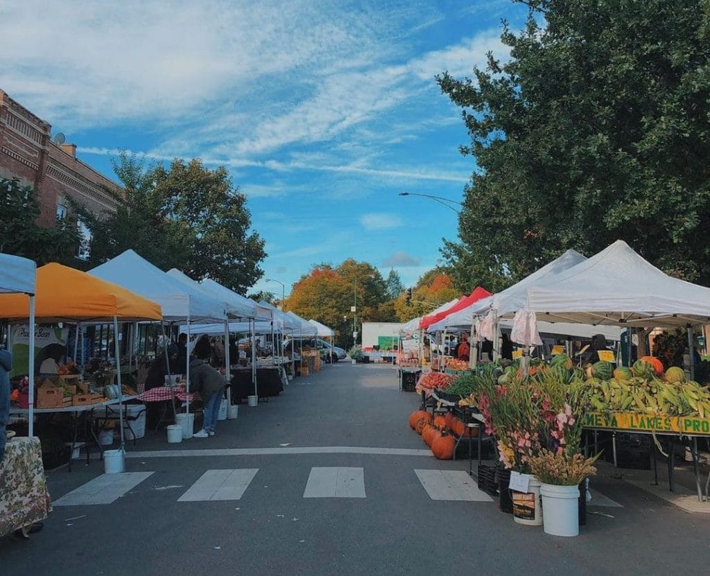 Logan Square's Farmers Market Is Returning This Weekend