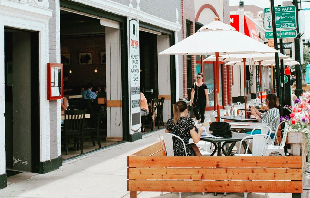 Broadview Street Is Now Reserved For Patio Dining