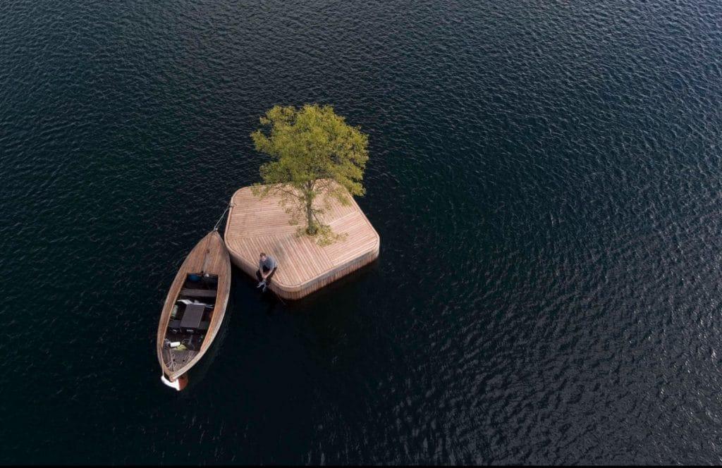 copenhagen floating islands
