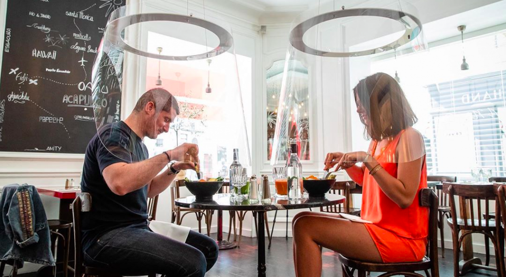 New Lampshade Pods Could Be The Future Of Dine-In Restaurants