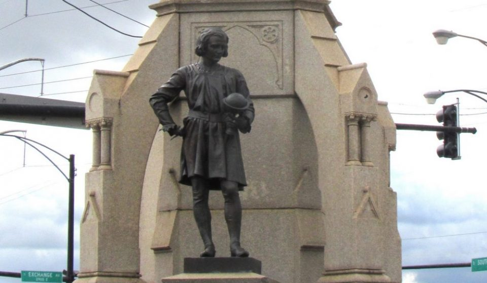 The City's Last Columbus Statue Has Been Taken Down In South Chicago