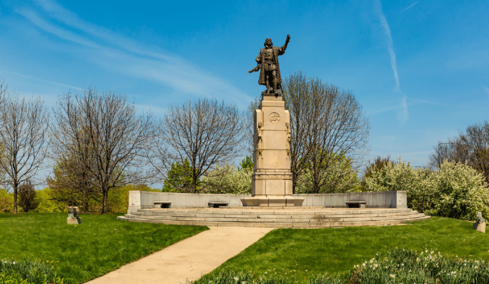 The Christopher Columbus Statues In Grant Park And Little Italy Have Been Taken Down