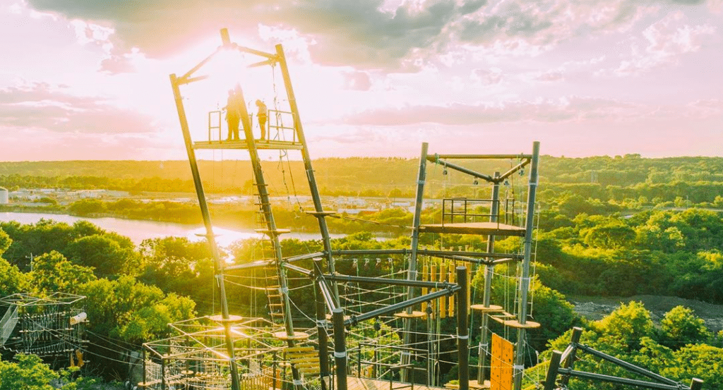 The Largest Outdoor Adventure Park In North America Just Opened Outside Chicago