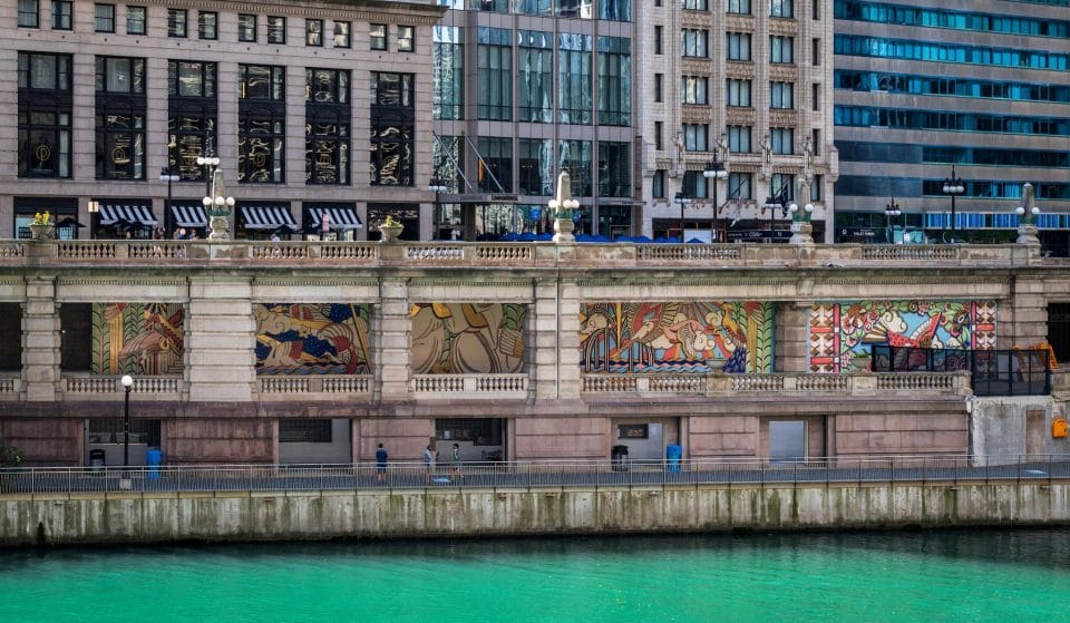 A Stunning New Mural Has Popped Up In The Chicago Riverwalk!