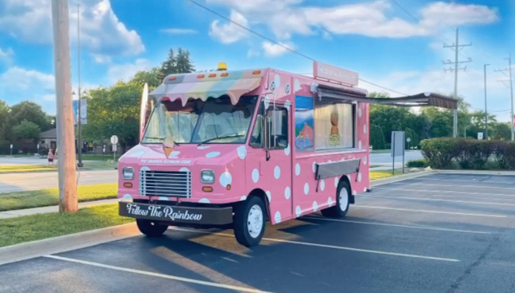 The Original Rainbow Cone's Sweet New Ice Cream Van Will Be In Bolingbrook This Weekend