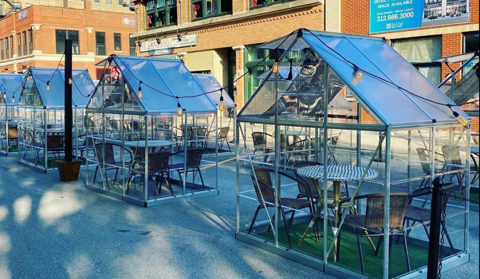 You Can Now Dine In An Adorable Green House At This Chicago Restaurant • The Darling
