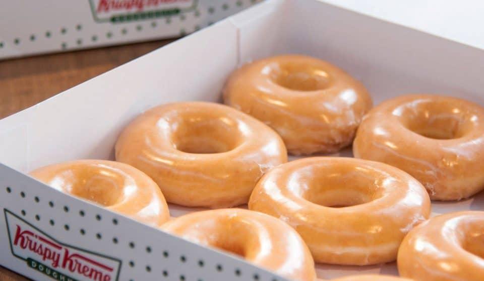Krispy Kreme Is Giving Away A Dozen Glazed Donuts To Celebrate Their 83rd Anniversary