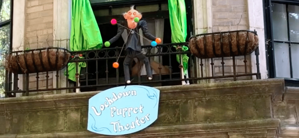This Puppeteer Performs Neighborhood Shows From His Apartment Window In Lakeview