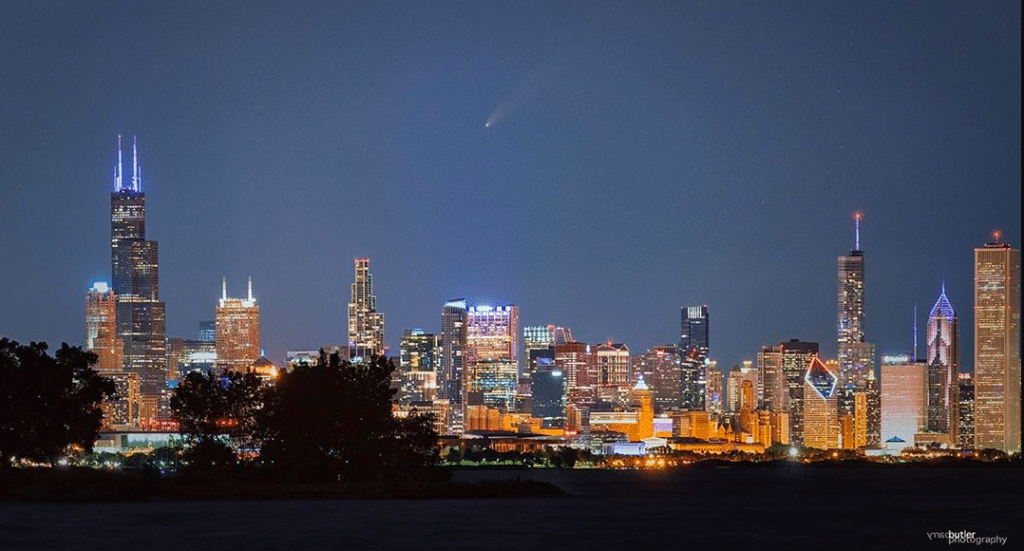 Here's How To See The NEOWISE Comet In Chicago