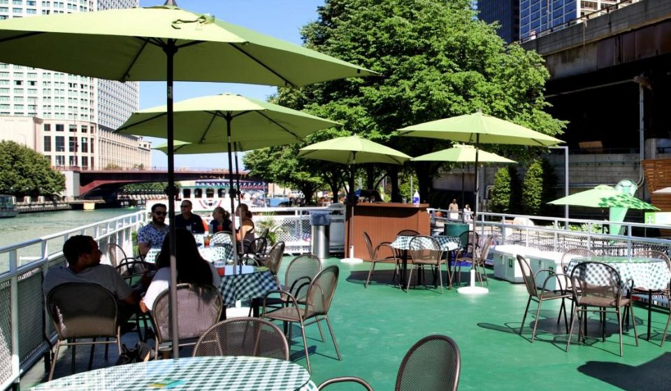 Take In The Gorgeous Riverwalk Views At This New Floating Rooftop Bar