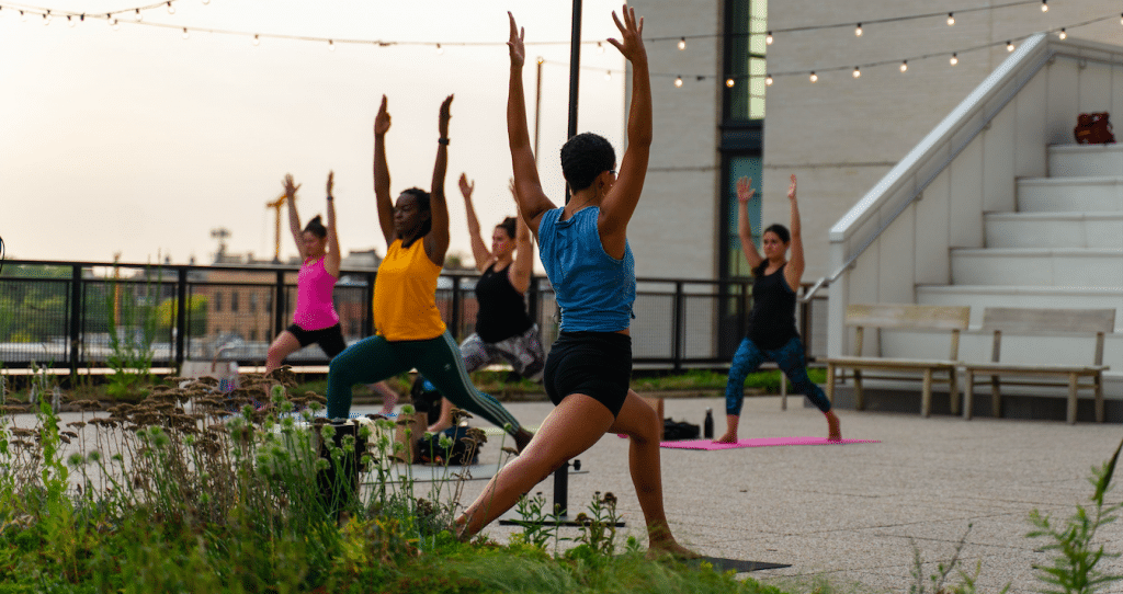Strengthen Your Core And Your Mind With An Evening Of Rooftop Yoga And Meditation