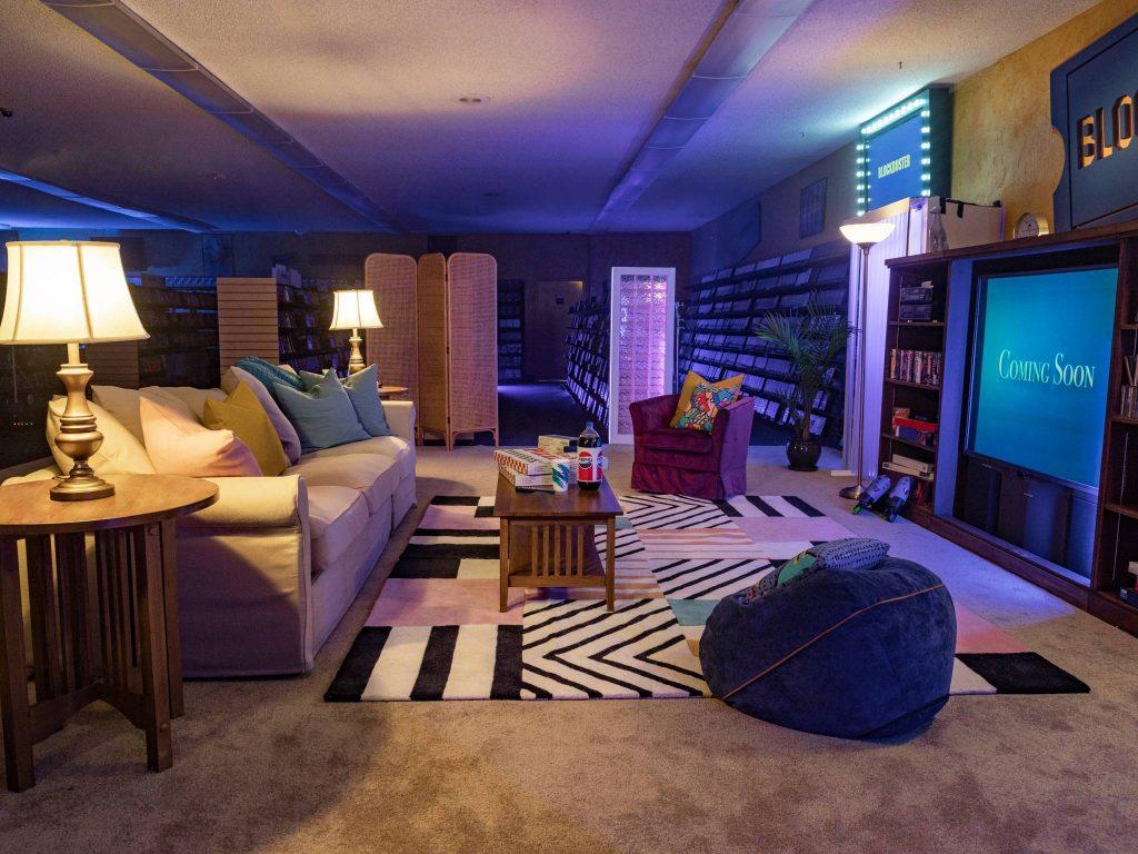 Blockbuster via Airbnb