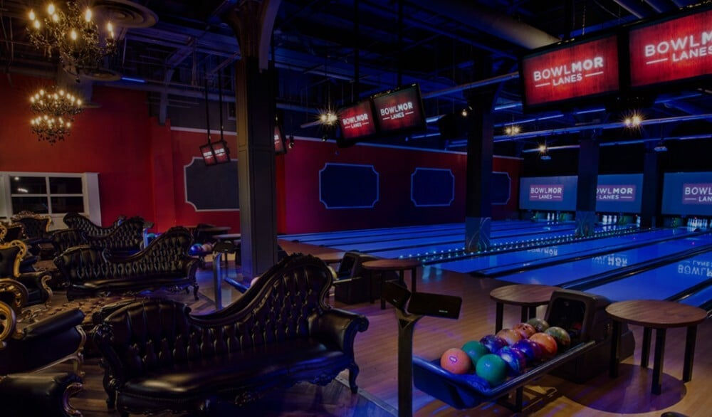 This Bowling Alley & Bar Serves Up Retro Vibes In An Upscale Setting