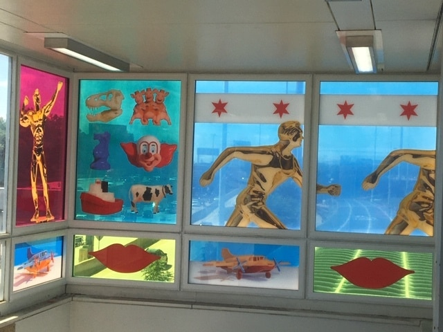 The CTA Has Added Two New Eye-Catching Art Installations