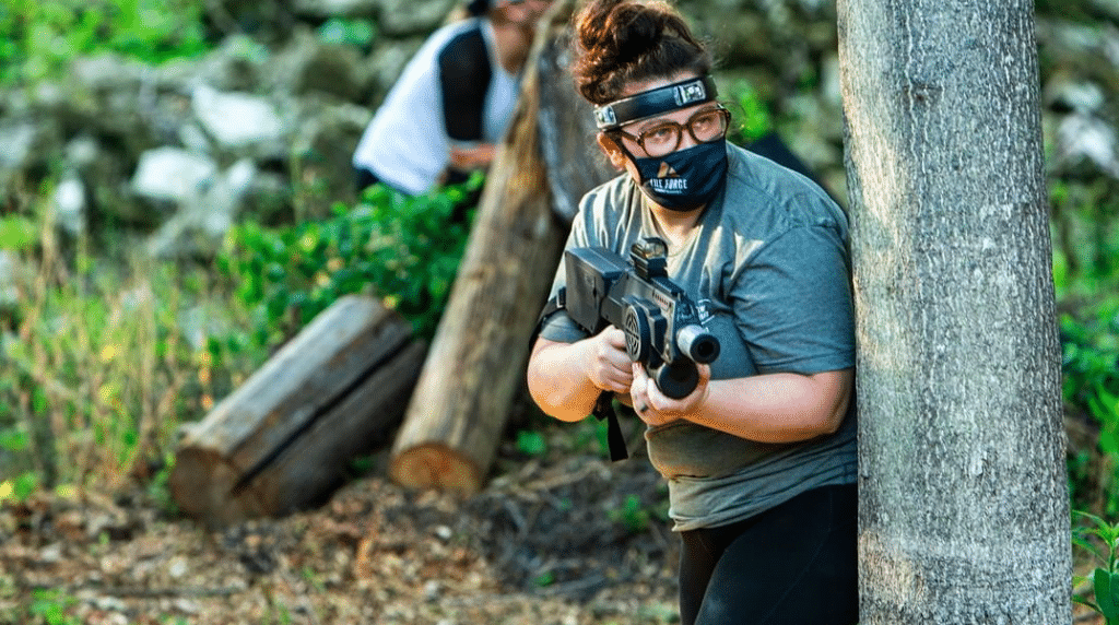 Electrify Zombies At The Forge's Full Tilt Zombie Apocalypse Laser Tag Experience