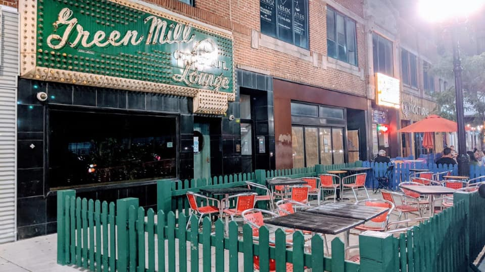 Broadway Street Expanded For Outdoor Patio Dining