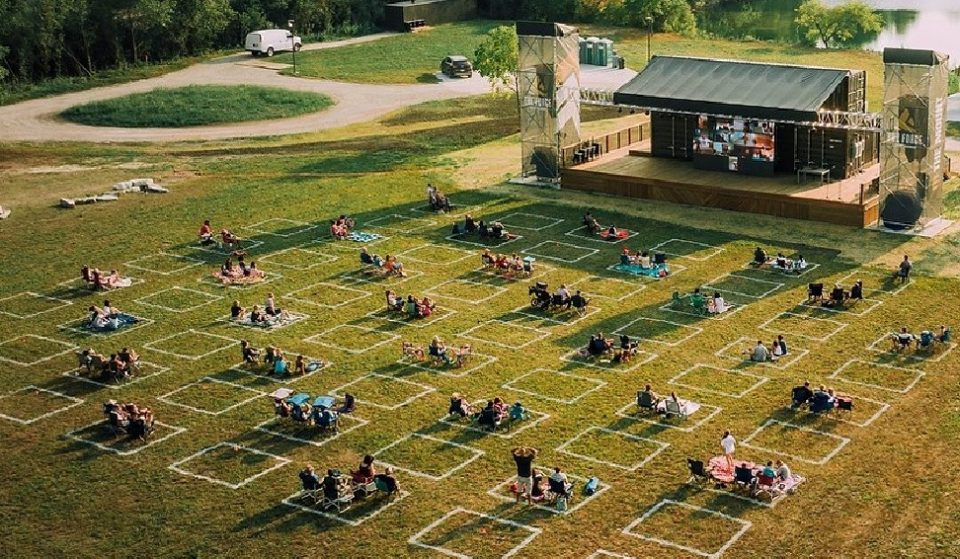 Watch Free Outdoor Concerts And Movies In Lemont At The Largest Adventure Park In North America