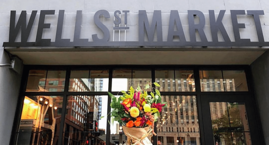 Wells St. Market Food Hall Is Closing Indefinitely This Friday