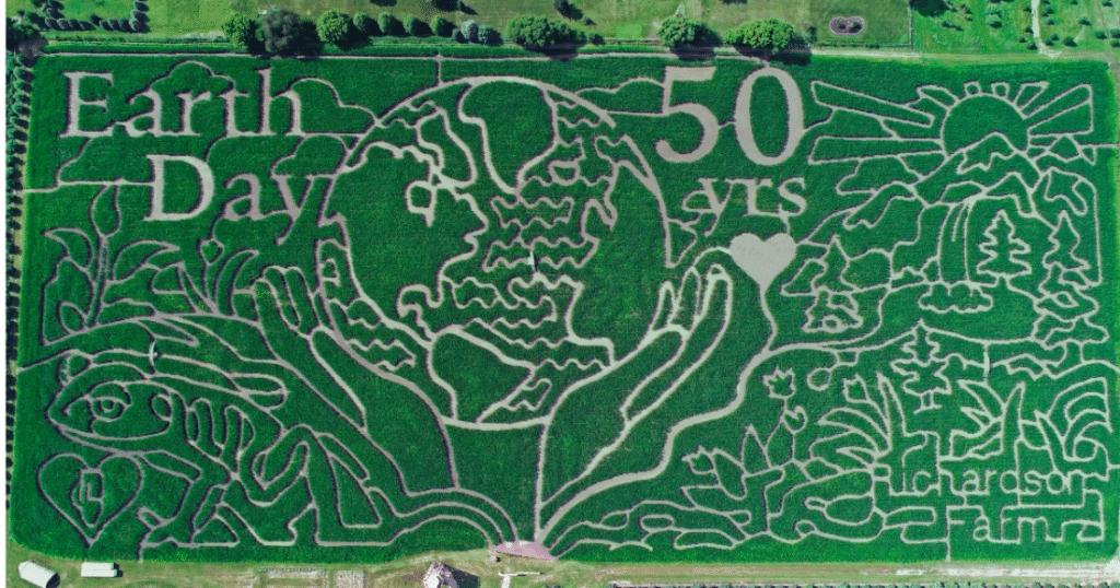'World's Largest' Corn Maze Opens At Richardson Farm Outside Chicago