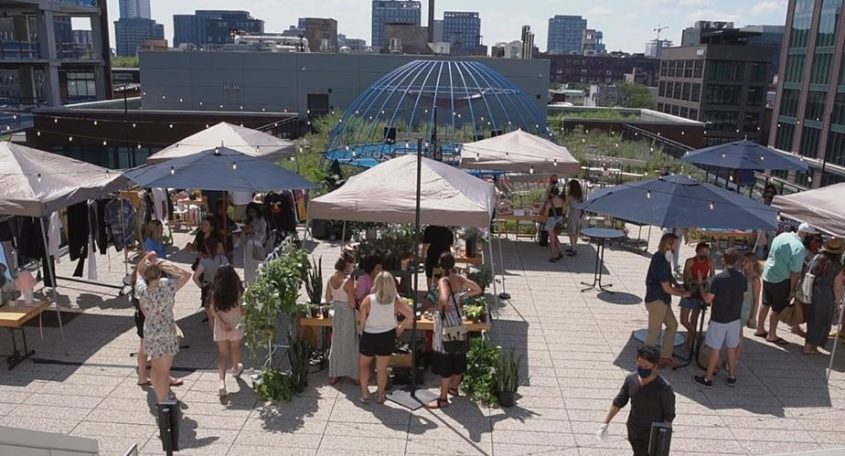 This Outdoor Fashion Market Will Take Place On Ace Hotel's Magical Prairie Garden Terrace