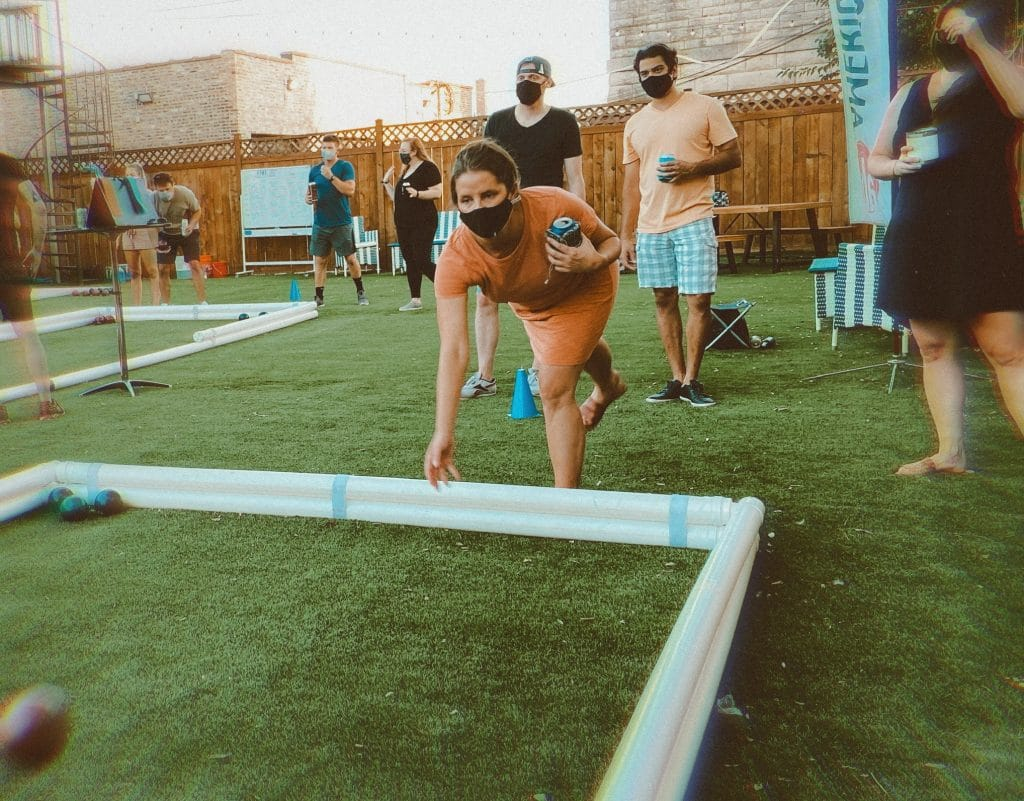 Assemble Your Most Able Amigos For Bocce And Beer!